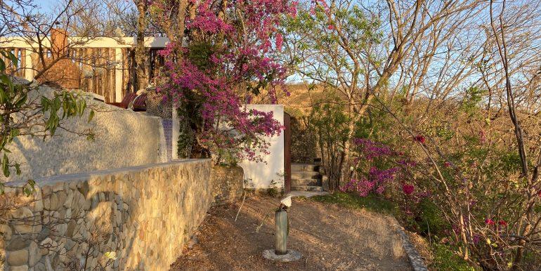 Casa Mariposa landscapping