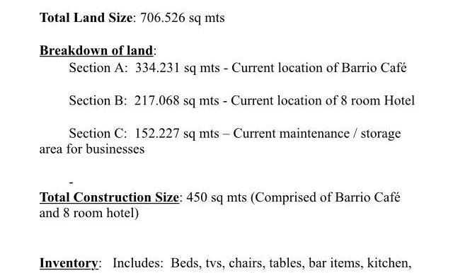 Description of Property
