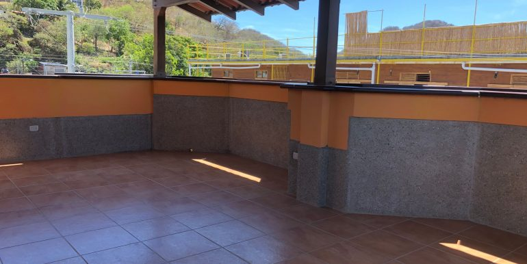 Hotel La Terracita 3rd floor covered patio