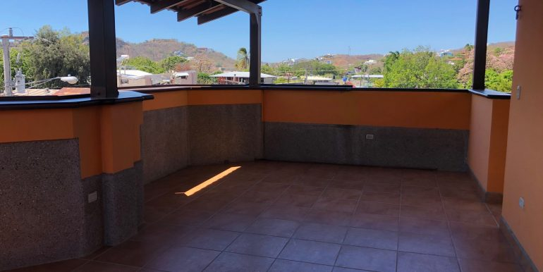 Hotel La Terracita 3rd floor patio with outlets