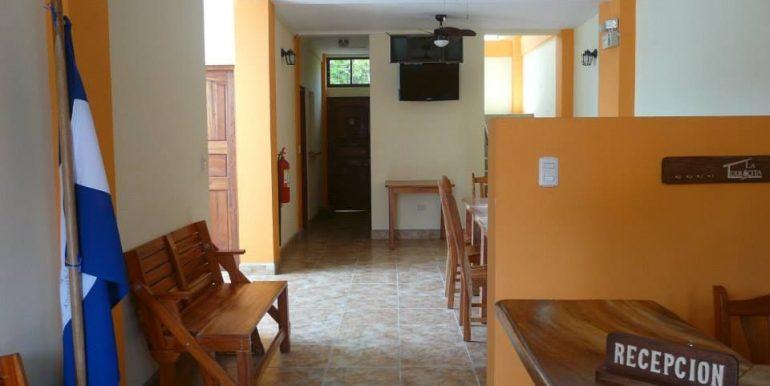 Hotel La Terracita first floor reception area