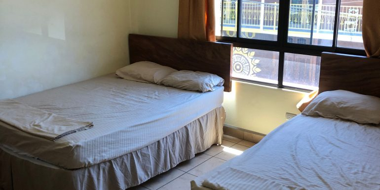 Hotel La Terracita room with 2 full size beds
