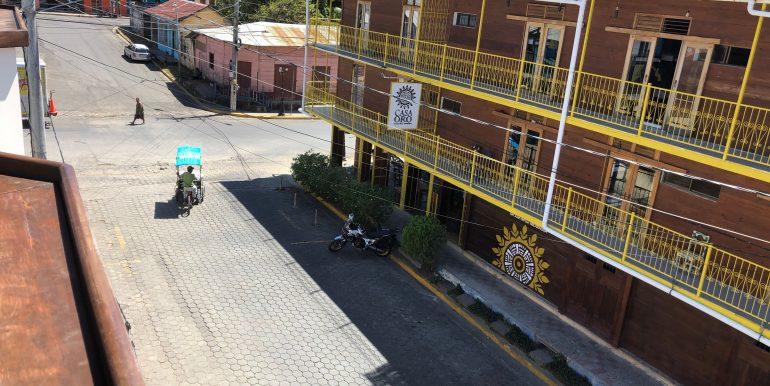 Hotel La Terracita street view from 3rd floor
