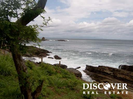1.62 Acre Oceanfront Property southern view