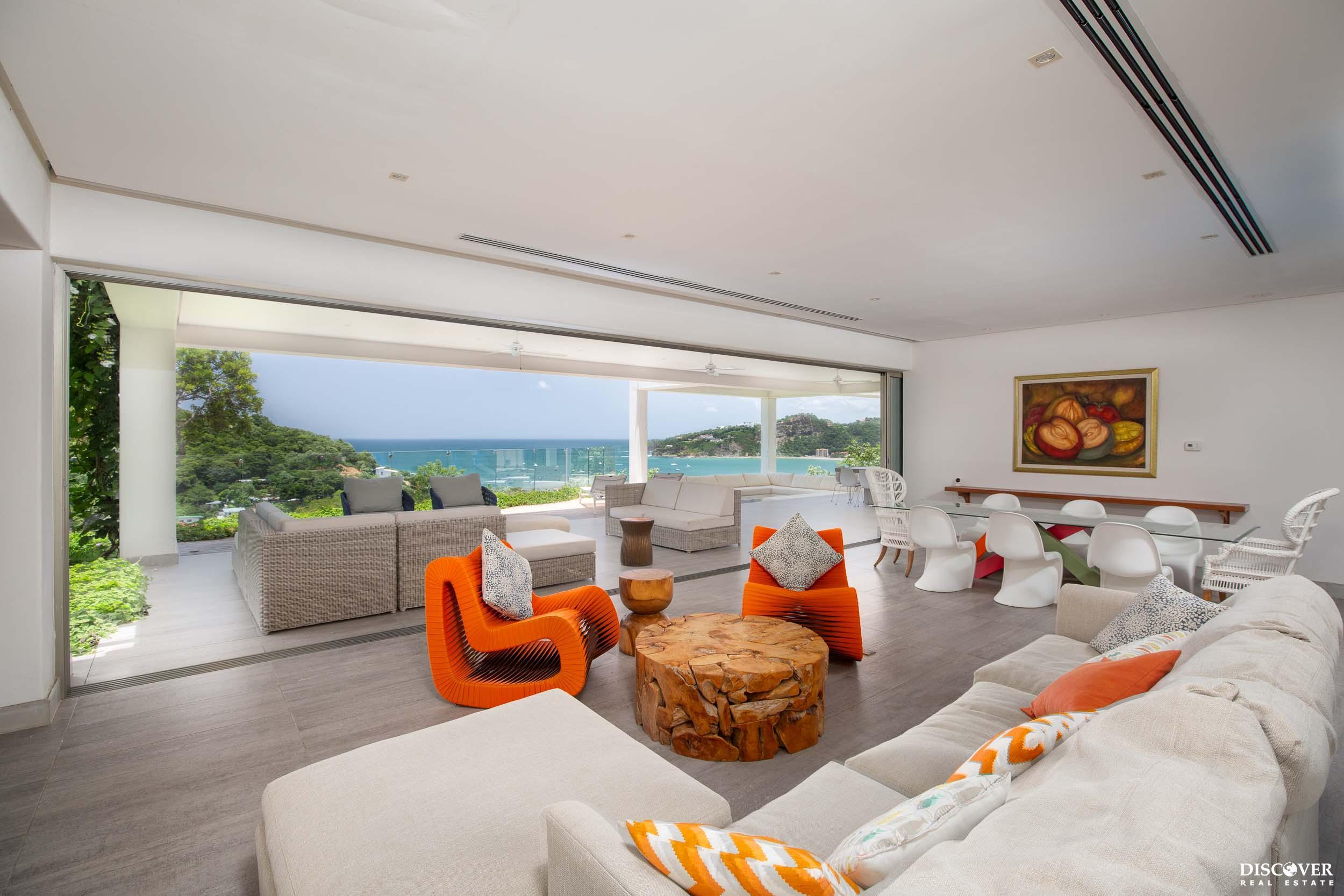 Gorgeous Acuarela Modern House Overlooking San Juan del Sur