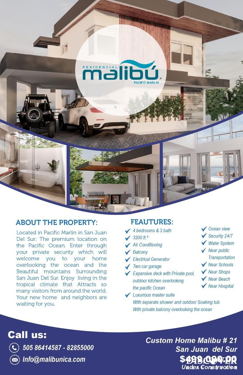 Malibu Custom Home #21 in Pacific Marlin